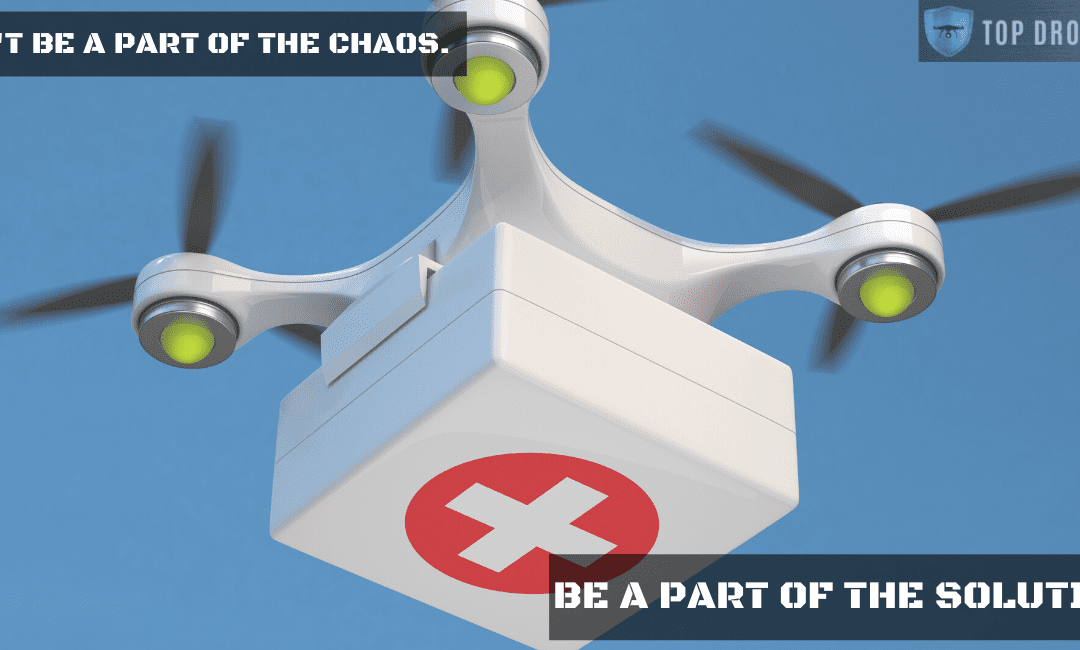 COVID-19: How Drones Can Impact the Pandemic